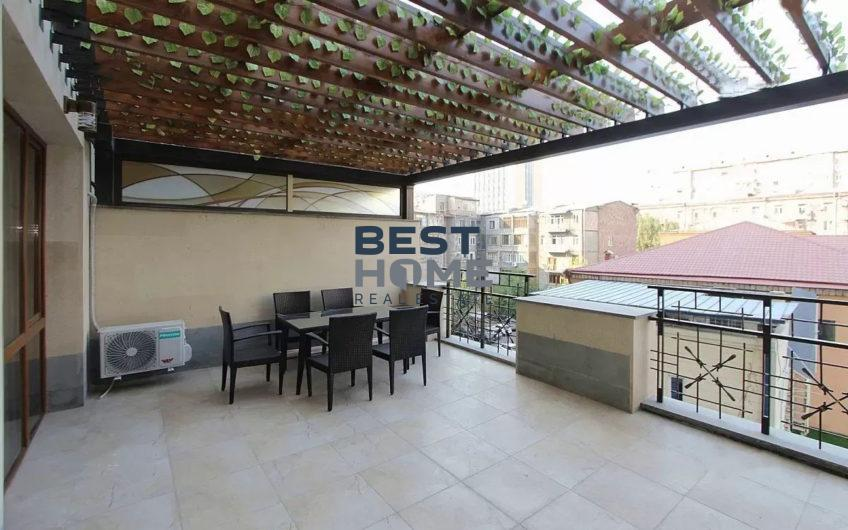 Turn-key one bedroom apartment with a terrace in center