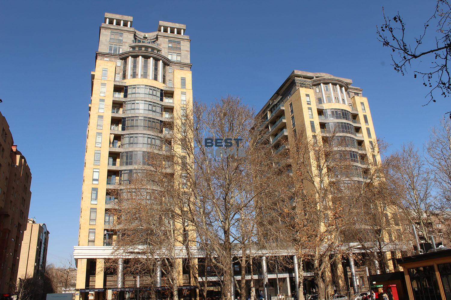 Buy or rent apartment on Aram street in a new building near the municipal park in a center of Yerevan. Real estate in Armenia, best property.