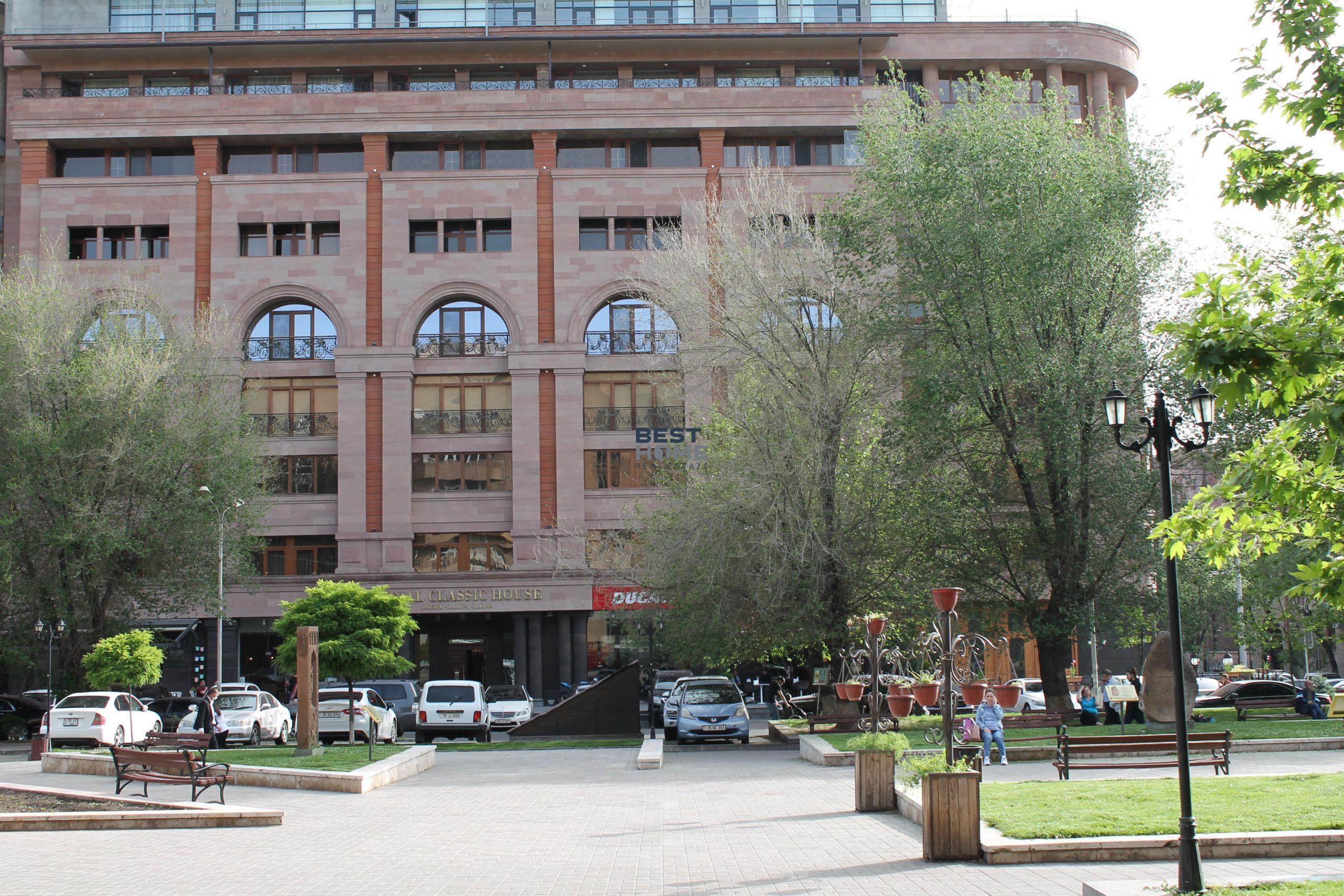 Property in Armenia. Real estate in a center of Yerevan for sale or rent. Apartments and houses in a new buildings.